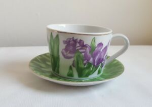 Irish Emporium & Co Fine Porcelain Collectable Cup with Plate