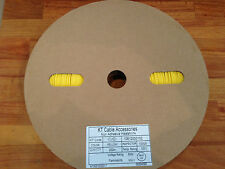 *NEW* 200m Roll of Yellow 2mm Heat Shrink Tubing - 2:1 Shrink Ratio Non Adhesive