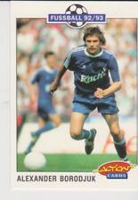 Panini Fussball 92-93 Action Cards #198 Alexander Borodjuk FC Schalke 04