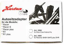 Hartan Adapter für Maxi Cosi auf Racer bis 2013 9904