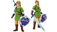 Figura da Action Big Link Deluxe 50cm Legend Of Zelda Azione