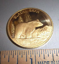 Alaska Brass Token, Black Bear collectors Coin NEW, awesome last frontier item!