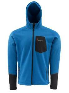 SIMMS Pro Axis Hoody Jacket. Blue M, XL. Extra warm Polartec Thermal Pro 300