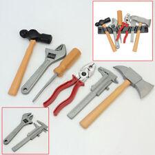 Repair Tools Kit Pretend Tough Workshop Kids Set Nails Hammer Wrench Kids Toy DH