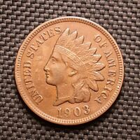 1903 Indian Head Cent/Penny - Extremely Fine XF EF