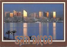 USA San Diego Skyline Panorama Ship Boats