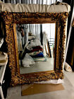 Classical large guilded mirror
