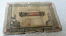 More details for antique historical christian card - blood of christ- bruges- 1922- service times