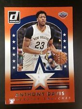 ANTHONY DAVIS 2015-16 PANINI DONRUSS SUPER SWATCHES GAME USED JERSEY#/149