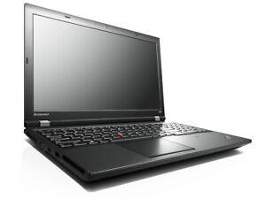 "Lenovo Thinkpad L540 Laptop 15.6"" core i3 4100 6GB RAM 128GB SSD WINDOWS10 PRO"