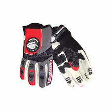 NEW - Mongoose Full-Finger Racing Gloves / Red, Small (BMX, MTB)