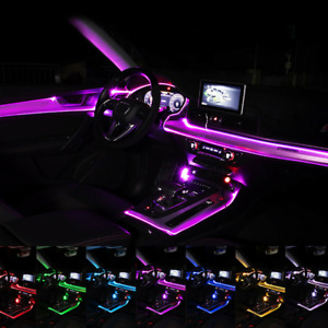Home/Car/Party Decor USB Controller Glow Neon LED String Strip Light EL Wire