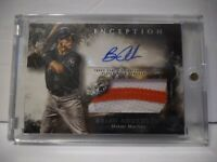2018 INCEPTION BRIAN ANDERSON AUTO PATCH #'d 42/299.