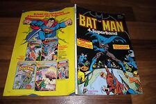 BATMAN Superband  # 4 -- WETTSTREIT der UNTERWELT //  1. Auflage 1980