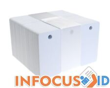 fotodek SPECIALS Blanco 760 MIC PVC - CR80 tamaño - 3UP KEY Placas - Paquete de