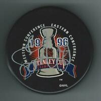 Sandis Ozolinsh Signed Colorado Avalanche 1996 Stanley Cup Champions Puck