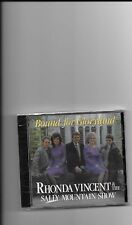 """RHONDA VINCENT & THE SALLY MOUNTAIN SHOW, CD """"BOUND FOR GLORYLAND"""" NEW SEALED"""