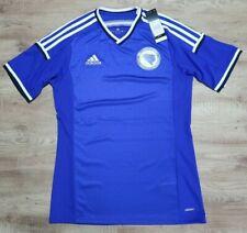 Bosnia Soccer Jersey Football Shirt 100% Authentic M 2014 World Cup adizero