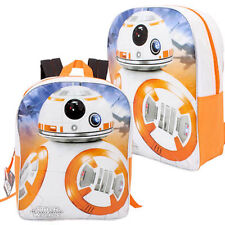 "Star Wars Force Awaken BB8 School 15"" Backpack Bag Disney Rucksack Mochila Bolsa"