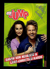 Sarah von Neuburg und Lars Christian Karde JUMP Original Signiert # BC 104489