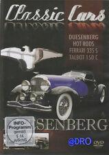 DVD + Duesenberg + Ferrari + Talbot + Hot Rods + Automobilgeschichte Liebhaber +
