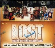 LOST season 2 Trading Cards Display MINT Inkworks