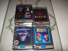 StarCraft y Broodwar pc box y diablo Warcraft
