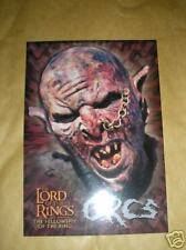 LOTR FELLOWSHIP OF THE RING POSTCARD - ORCS