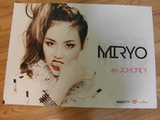 MIRYO AKA JOHONEY - 1ST ALBUM [ORIGINAL POSTER] K-POP BROWN EYED GIRLS