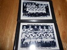Bristol ROVER FOOTBALL CLUB ALBUM FOTO (1950's + +)
