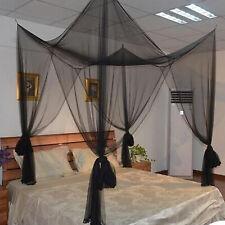 Canopies & Netting Schwarz XL Moskitonetz Betthimmel Fliegennetz Mückennetz Baldachin Insektennetz Bedding