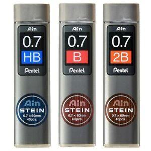 PENTEL Ain Stein Lead 0.7 mm C277 HB/B/2B 40pcs (Select)*