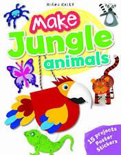 NEW Make Jungle Animals by Gillian Chapoman