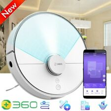 360 Modern Smart Home Robot Vacuum Cleaner Automatic Sweeping Aspiradora White