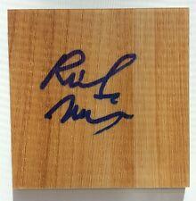 Rick Mahorn Detriot Pistons Signed / Autographed Mini Floorboard
