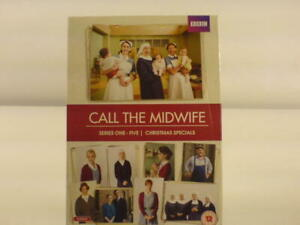 BBC Call the Midwife Series 1 - 5 + Christmas Specials DVD's. Used