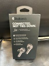 New Skullcandy - Indy True Bluetooth Wireless Earbuds Headphones Headset - Black