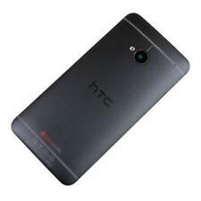 Genuine Original HTC M7 Black rear back battery cover inc camera lens Grade B