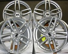 "17"" SLV RDC DRS CERCHI IN LEGA ADATTA 5x98 ALFA ROMEO 147 156 164 GT FIAT 500l DOBLO"