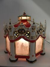 Dept 56 The Original Snow Village The Carnival Carousel #54933 Works Perfectly!