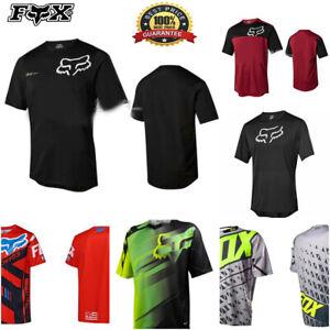 Fox Race Riding Jersey T-shirts Mens Motocross/MX/ATV/BMX/MTB Dirt Shirt Top NEW