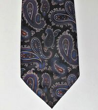 Black Paisley Cravate par les organismes de bienfaisance Anglais fait Charity Tie