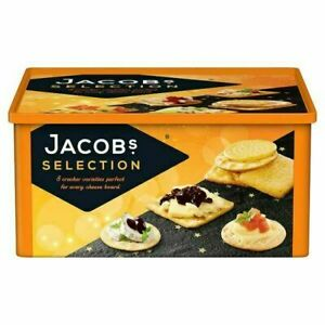 Jacob's 8 Varieties Jacobs Crackers Biscuits for Cheese Selection 900g Tub