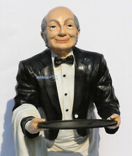 Haus Butler Buttler Bar Statue Deko-Figur Antik Optik Summer Diner Old Man Opa