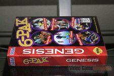 Genesis 6-Pak, Streets of Rage, Etc (Sega Genesis, 1995) FACTORY SEALED! - RARE!