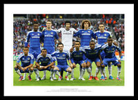 Chelsea 2012 Champions League Final Team Line Up Photo Memorabilia (581)