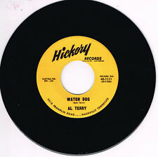 AL TERRY - WATCH DOG b/w WILEY BARKDULL - AIN'T GONNA WASTE MY TIME - Rockabilly