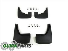 2009-2017 Dodge Journey Front & Rear Splash Guards Set MOPAR GENUINE OEM NEW