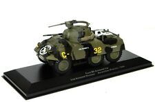 EAGLEMOSS DIECAST 1:43 - REF.NO.EX09 FORD M8 ARMOURED CAR US ARMY FRANCE 1944