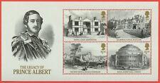 2019 ( Queen Victoria ) Legacy of Prince Albert Minisheet - NO BARCODE